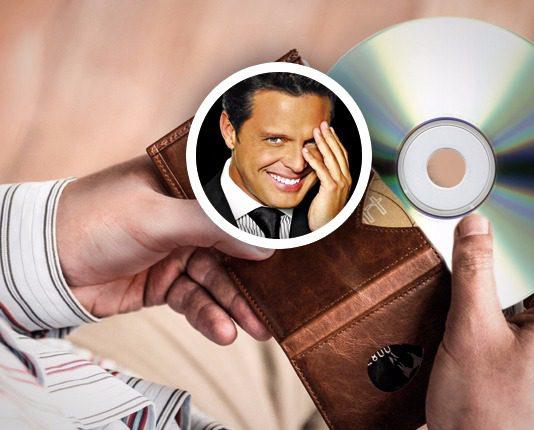 Luis Miguel paga con disco