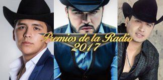 Julión, Nodal y Ortiz en los Premios de la Radio