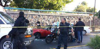 La locutora y periodista Celia Méndez fue atacada por dos sujetos en motocicleta la mañana de ayer en la Avenida Vallarta y cruce con Niño Obrera, en Guadalajara.