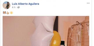 Luis Alberto Aguilera hospitañ