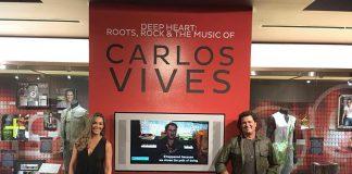 Carlos Vivres en el Museo de los Grammy