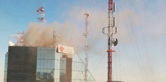 incendio radio centro