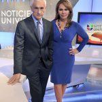 Jorge Ramos se despide de Maria Elena Salinas